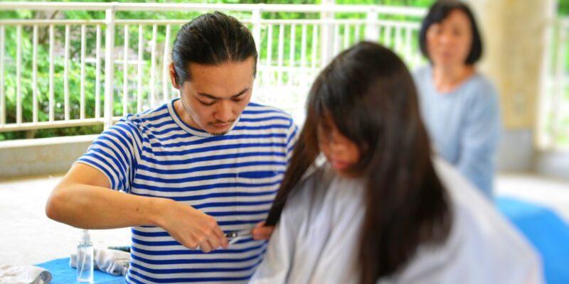 尾松さんの青空美容室 講師:尾松陽太 氏